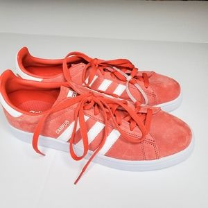 Adidas campus red men's shoes